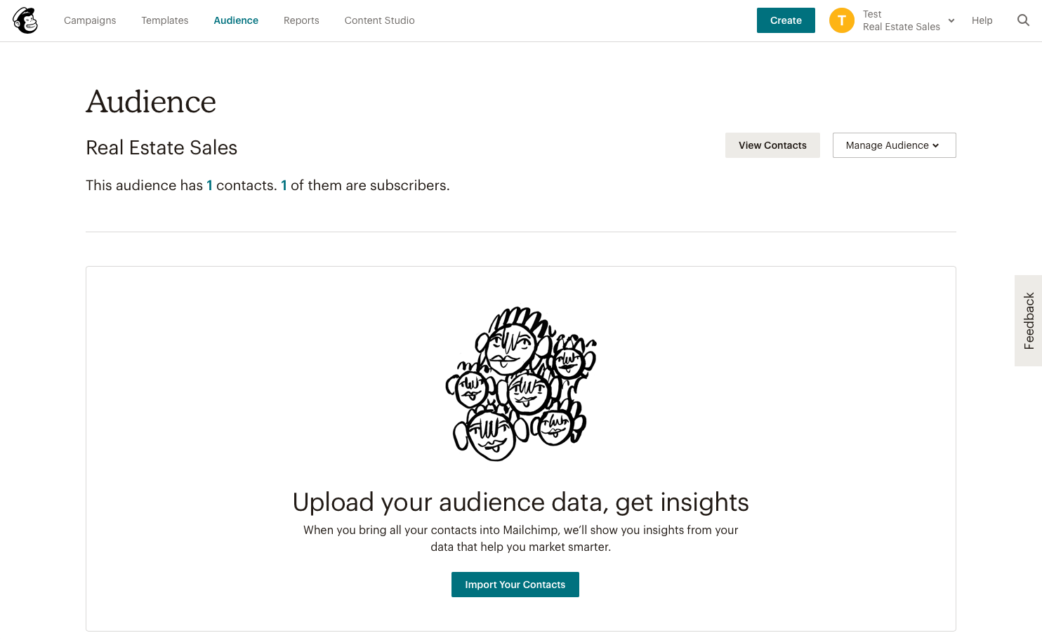 Build a drip marketing audience with MailChimp