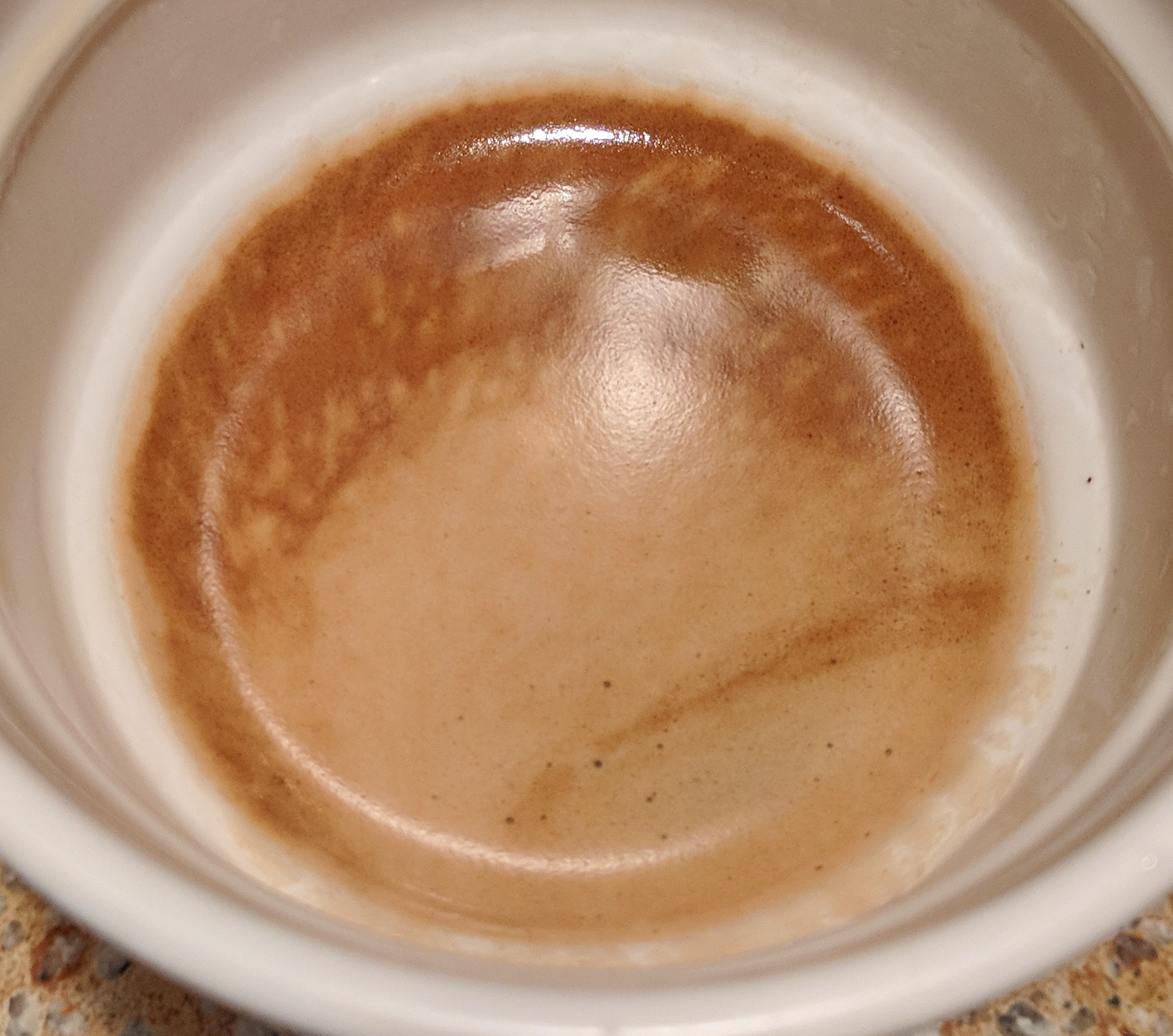 When your shots look like Jupiter in a cup you know you're doing it right