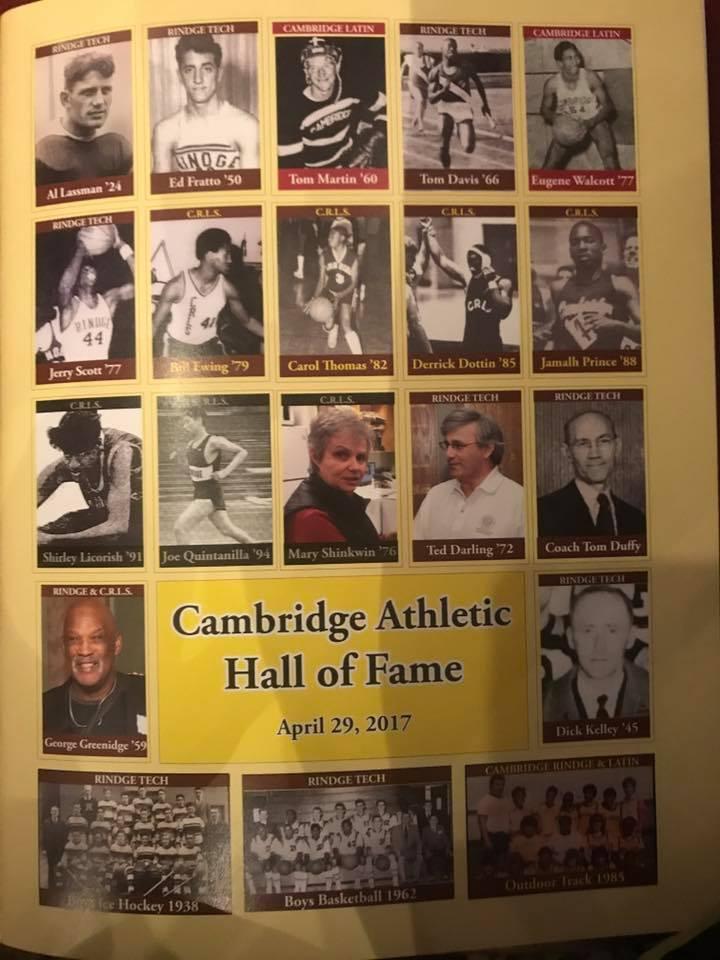 Cambridge Athletic HOF