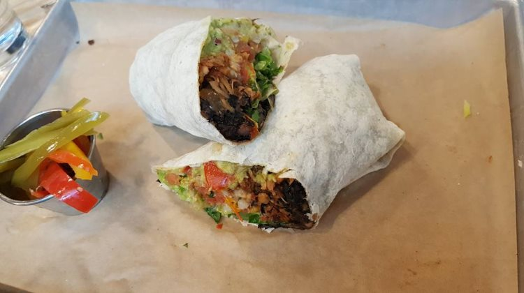 Sin Carne Burrito from Boltcutter