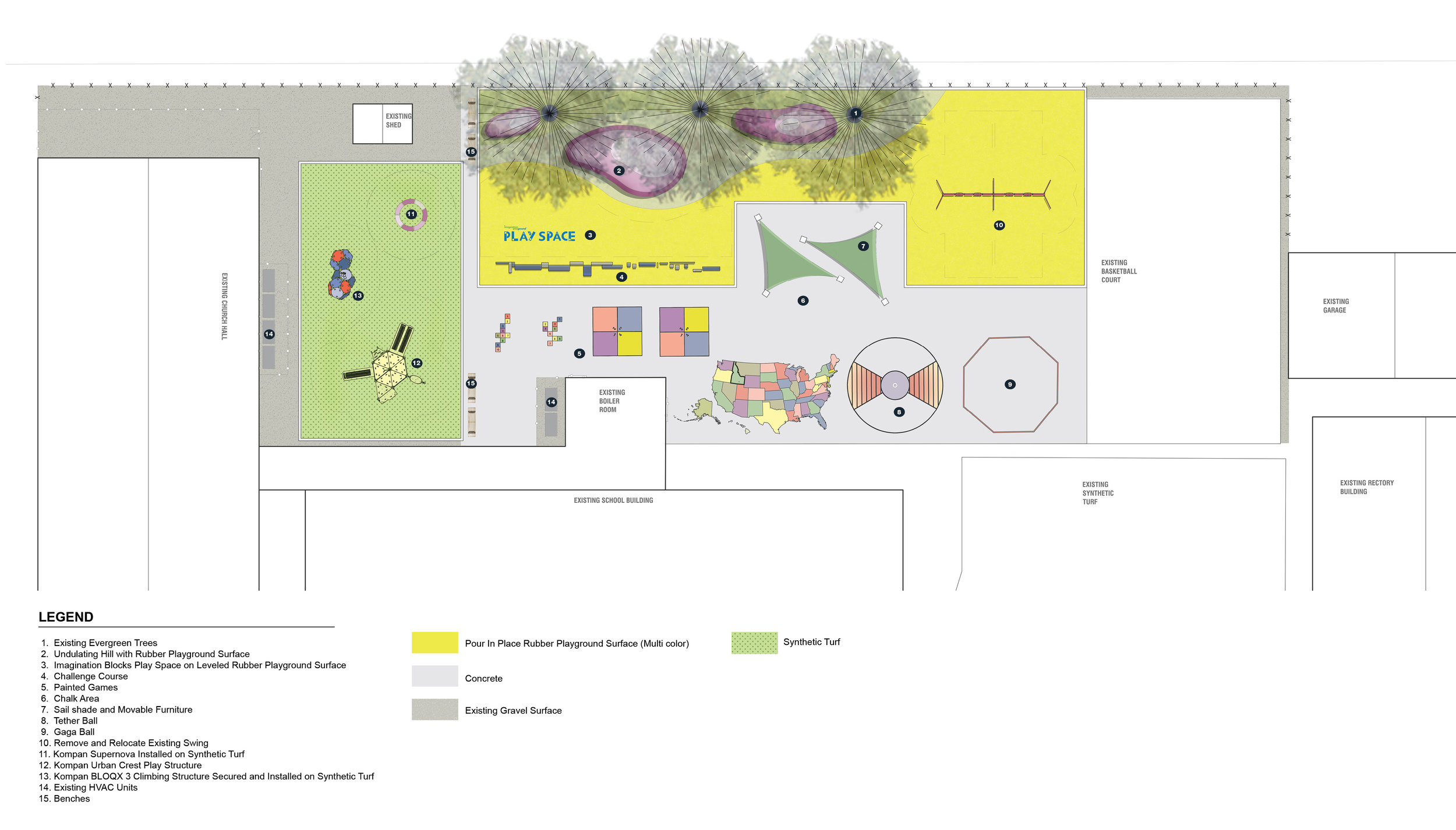 Proposed Site Improvement Plan