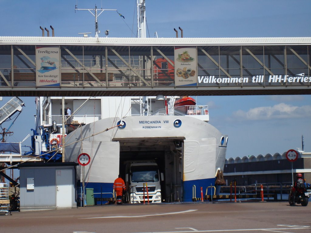 Auto Ferry from Sweden to Denmark