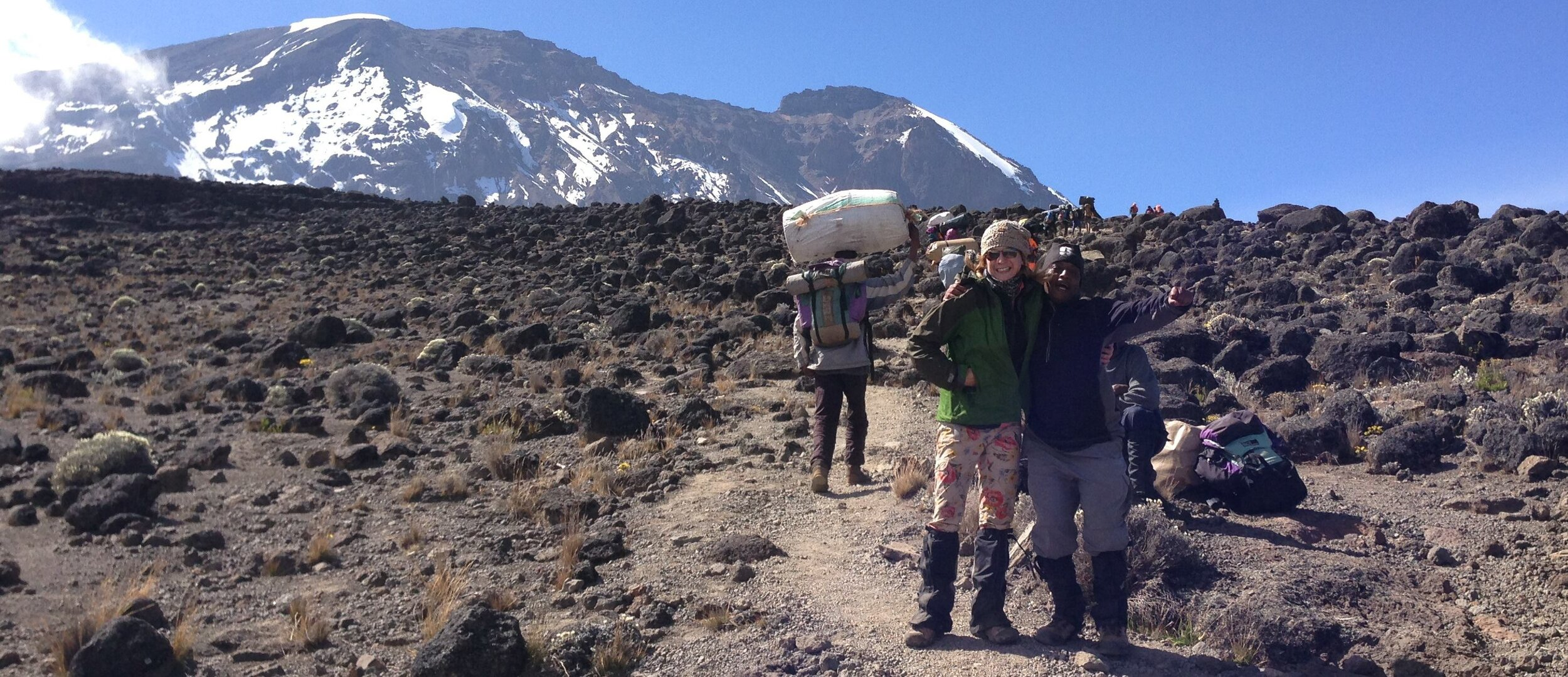 Dancing on Mount Kilimanjaro