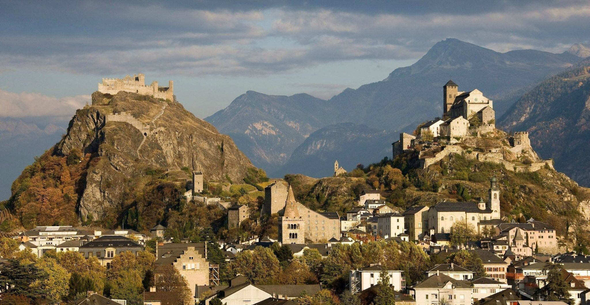 Sion Switzerland: Two Castles