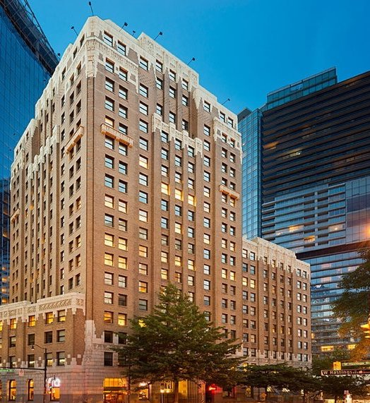 Marine Building – Vancouver, BC - Energex installed its occupancy-control energy system at Marine buildingDuring the measured period, lights were turned off 40 times manually and 25 times by Energex.The demand on HVAC system was then reduced by 23.5%.