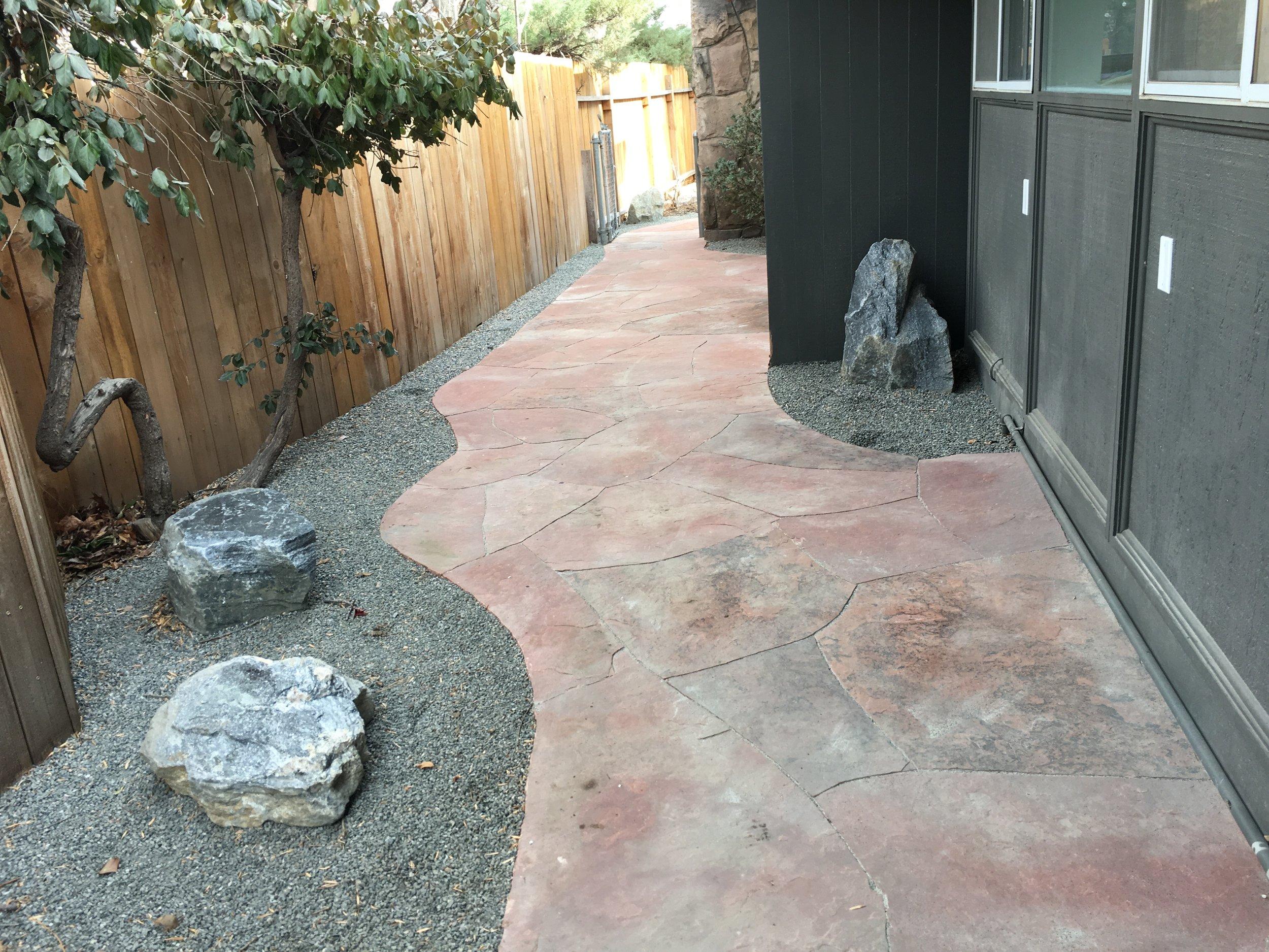 flagstone path | garden flagstones