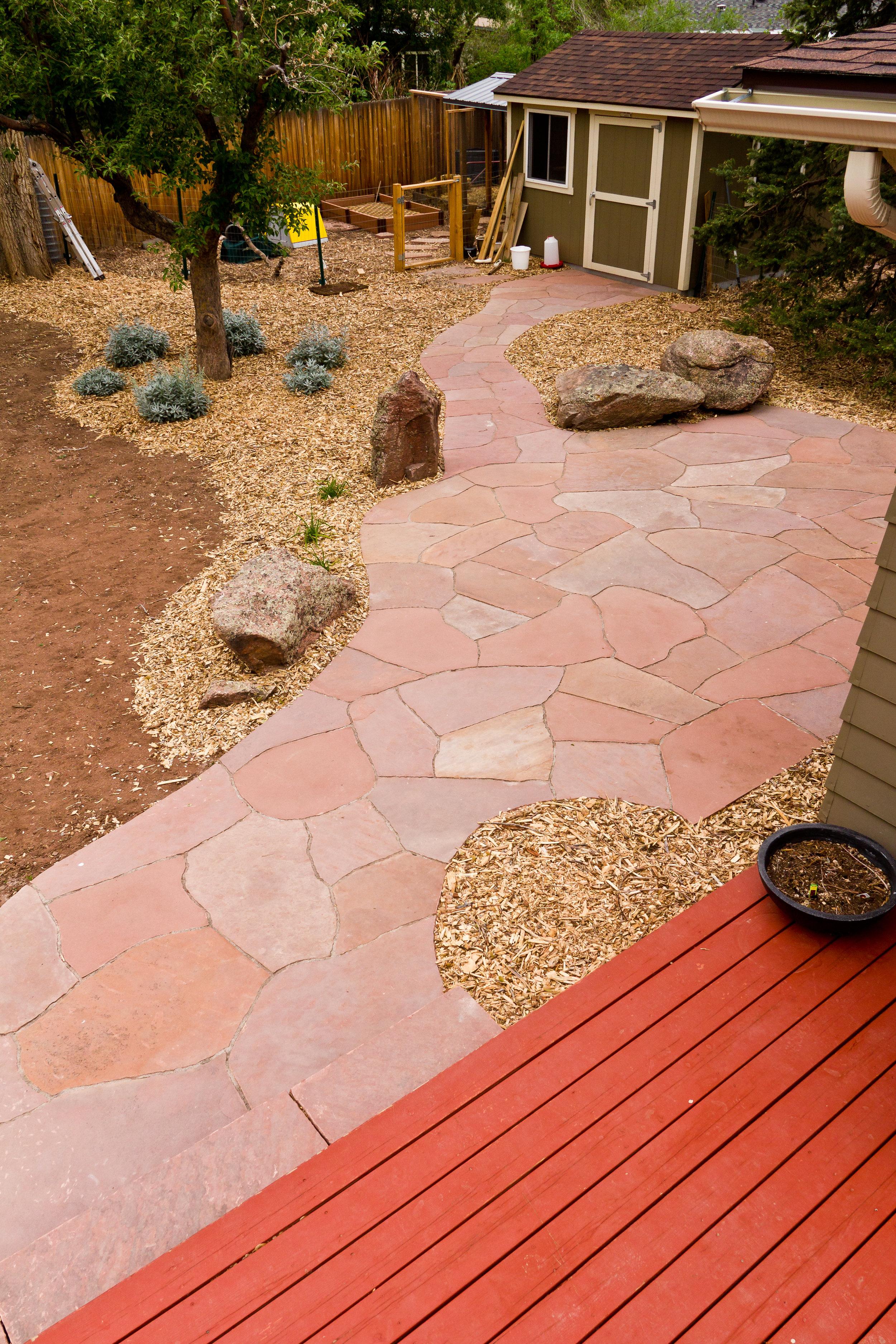 colorado stone longmont | garden paving cost