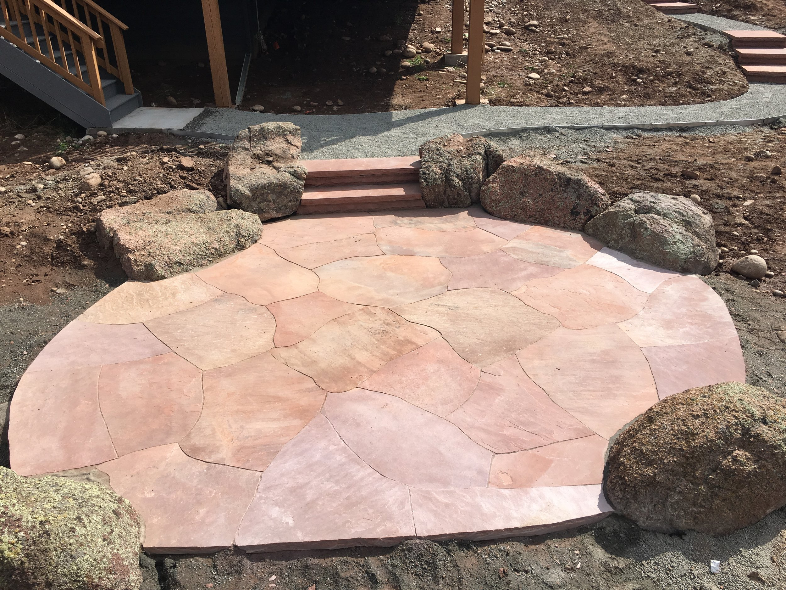landscape stairs | stone steps cost
