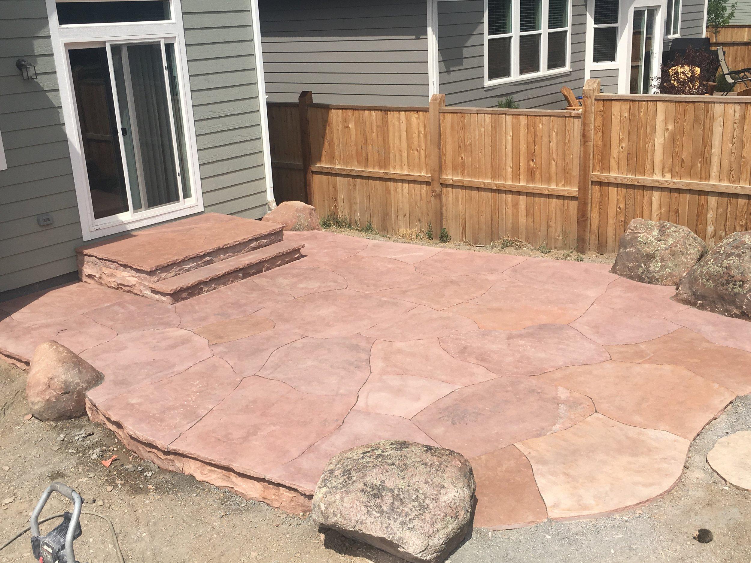 custom stairs | boulder stairs