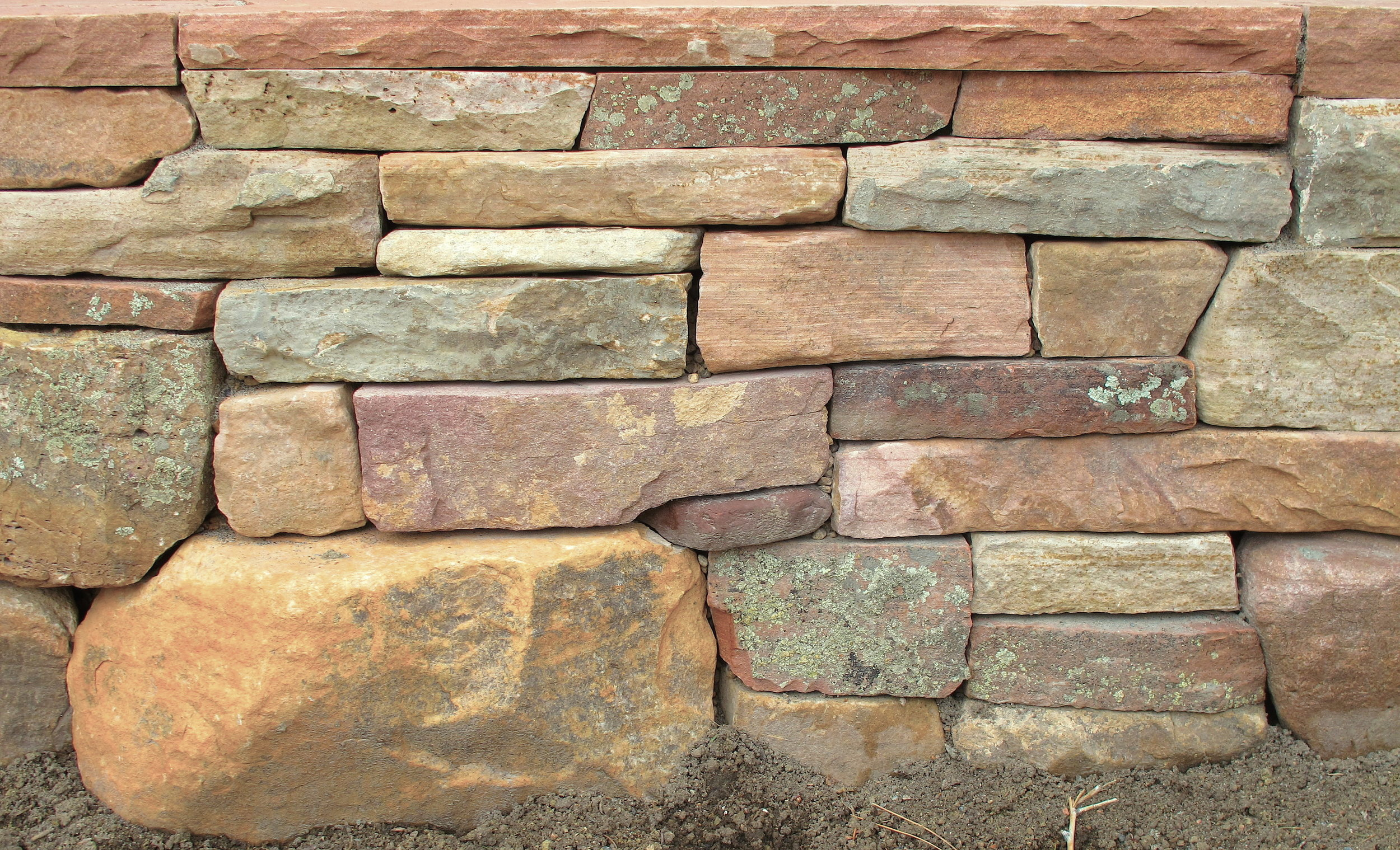 stack stone wall | retaining wall materials