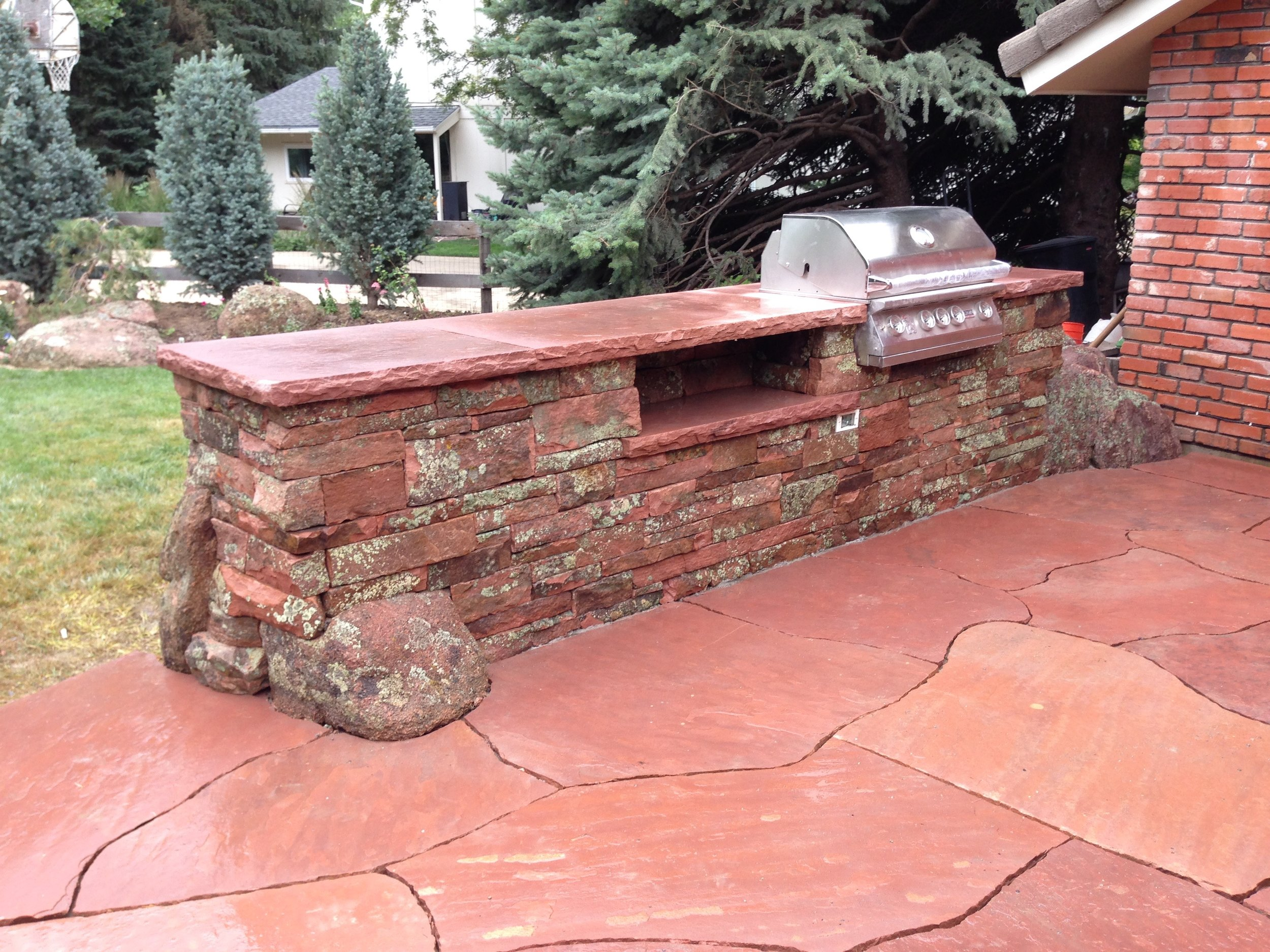 built in bbq grill | outdoor gourmet grill