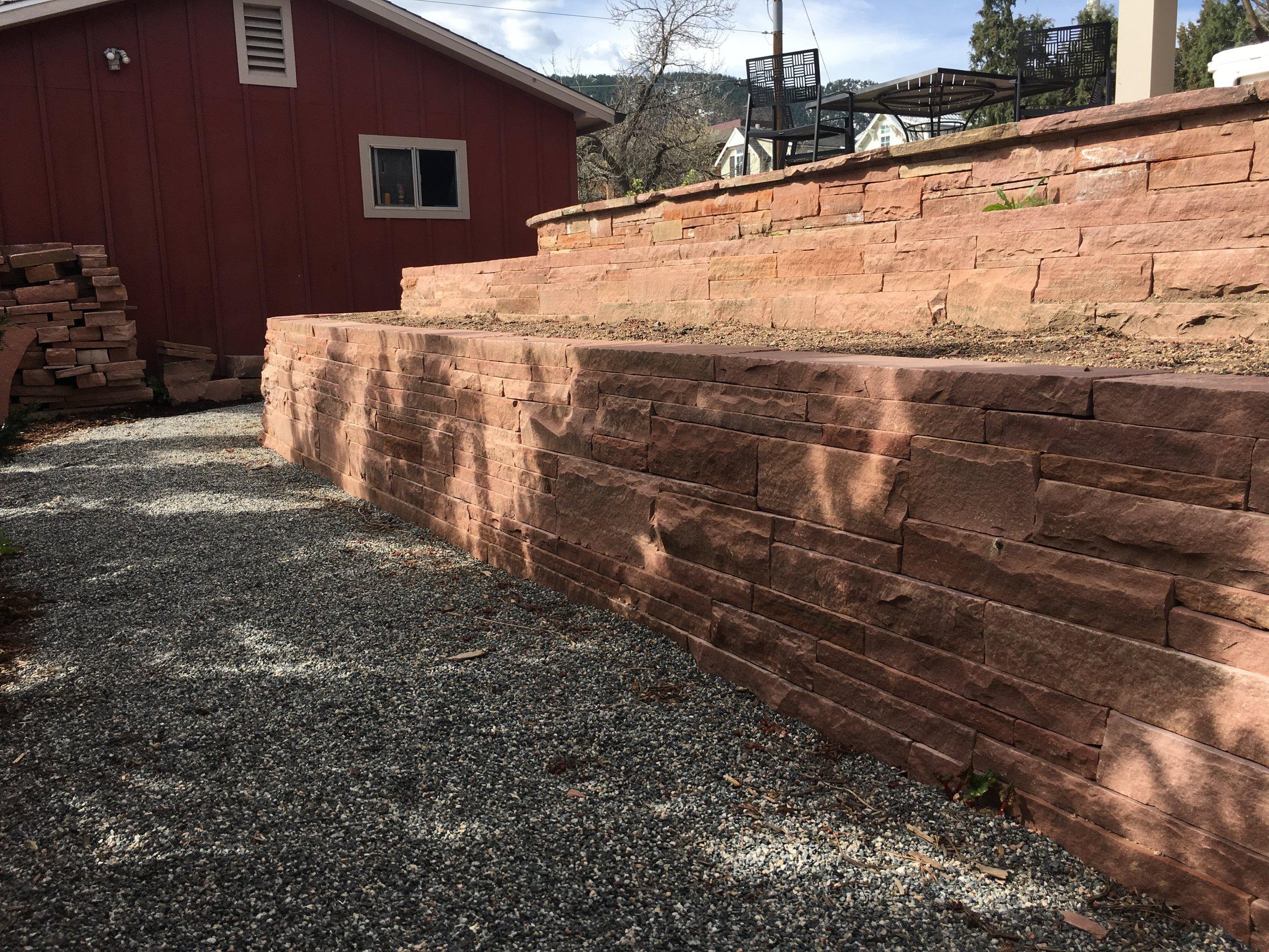 stack stone wall | retaining wall stones
