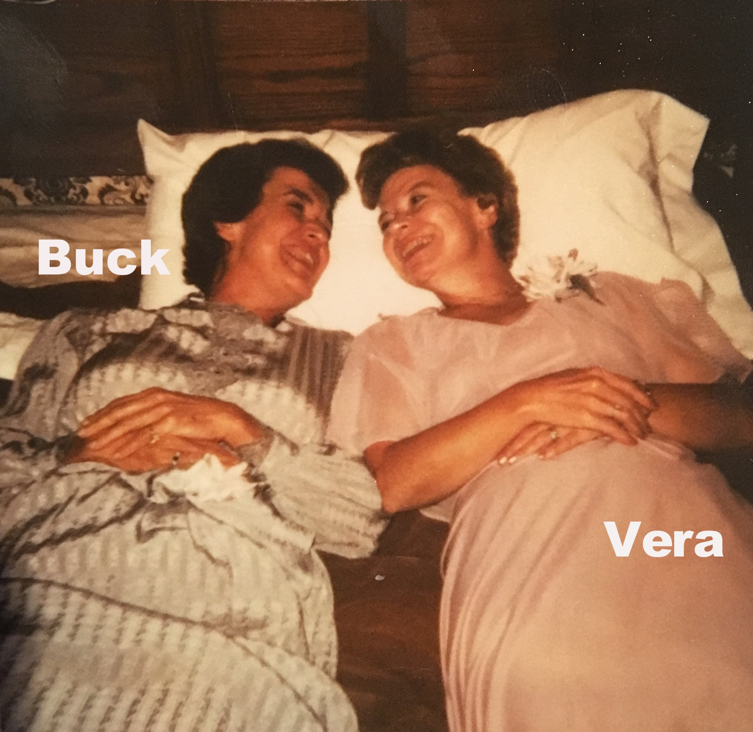 Who are Vera & Buck? - Vera & Buck are two trendsetters, two trailblazers, two unique, strong, beautiful women. Without them we would be nothing...literally! They are grandmothers and mothers who have shaped our family.