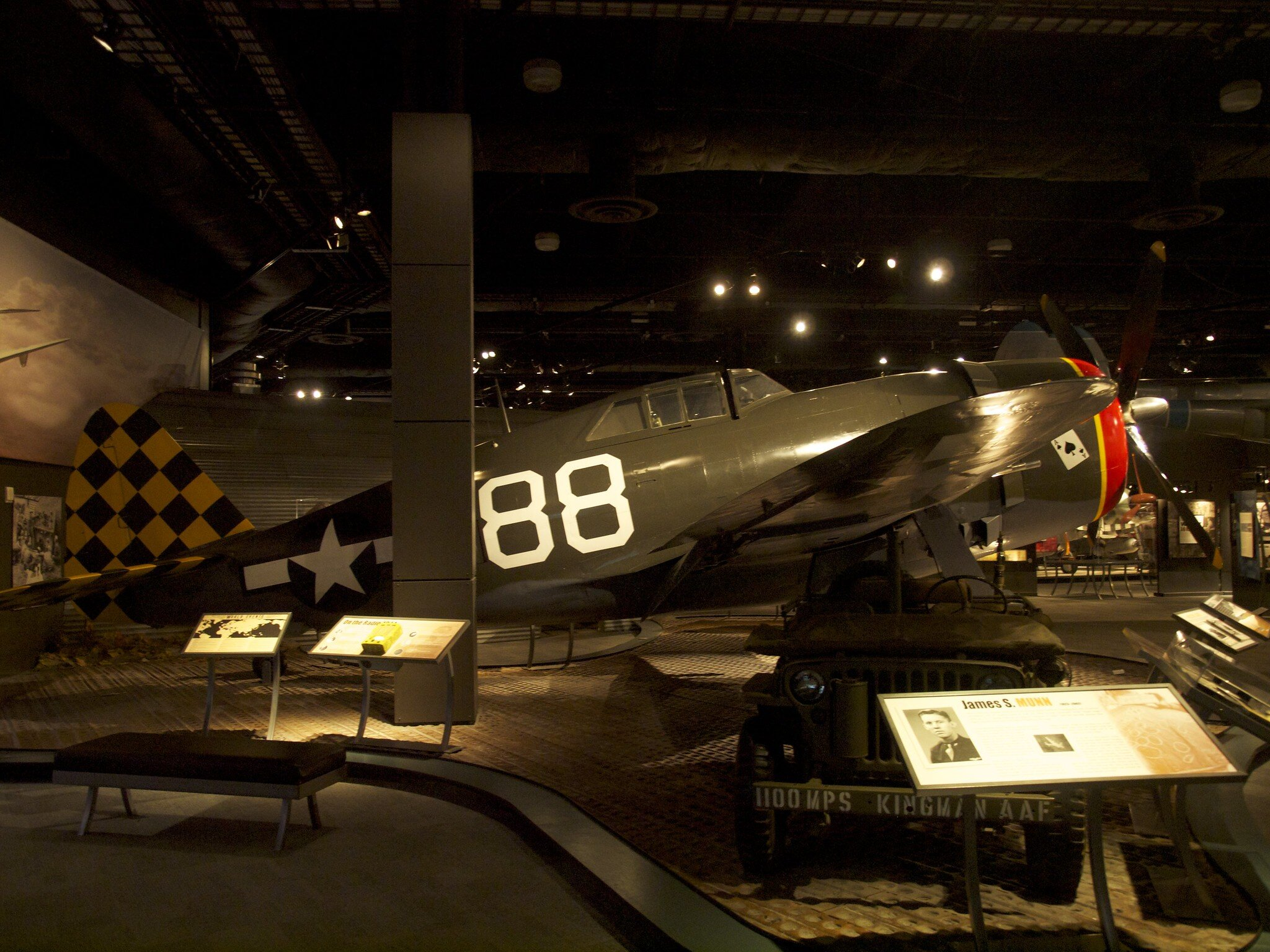 A visitor's photo from inside The Museum of Flight. Source: Gillfoto, Flikcr
