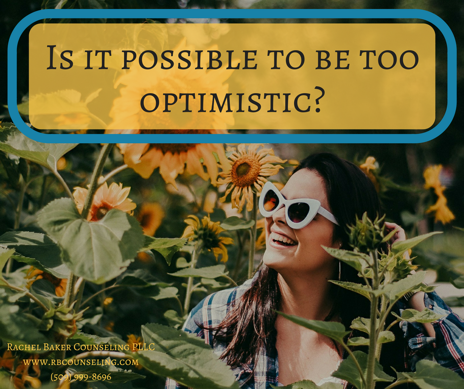 Too optimistic? Not if you want to decrease anxiety!