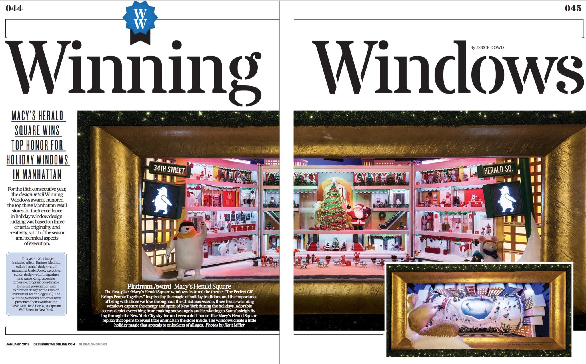 Design:Retail - Winning Windows