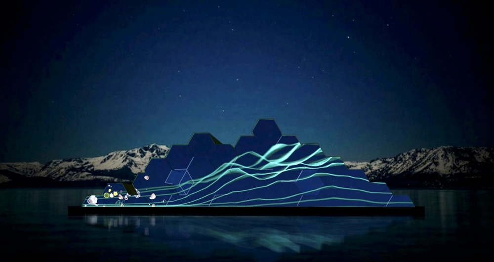 Land-to-Lake Climate Art Installation - Presented by Tahoe Public Art A custom designed 3D augmented reality art experience that takes visitors on a journey through the impacts of climate change on the ecological biodiversity of the Lake Tahoe Basin.