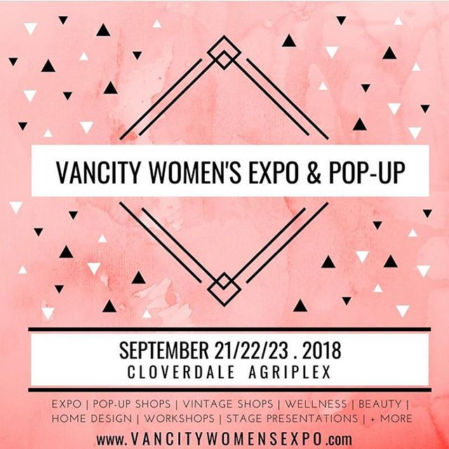 *CLOSED! The winner is @laceonthebeach - Message us for details! * MONDAY GIVEAWAY! Tag THREE friends below to win FOUR free tickets to the Expo this weekend! 💗 #vancitywomensexpoandpopup