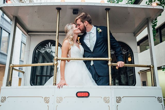 This couple made us feel like we were on cloud 9 and we weren't even the ones getting married