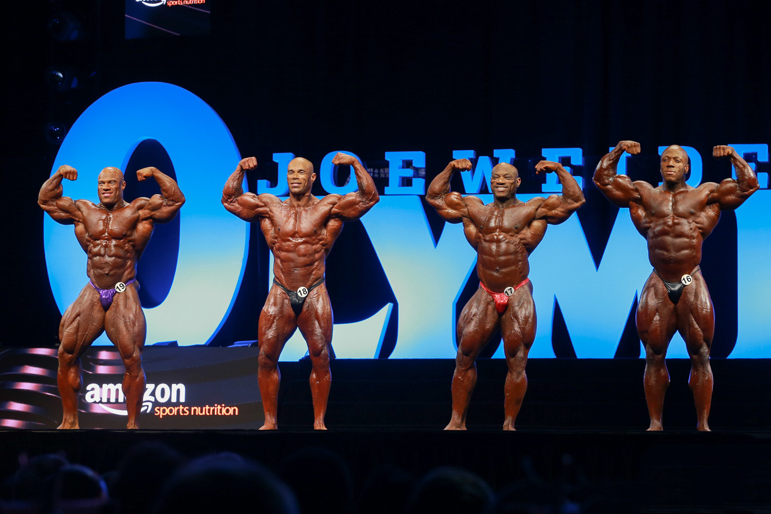 2017 Olympia Stage