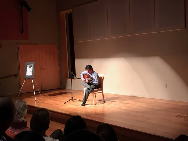 FALL 2016 CONCERT AT  REYNOLDA HOUSE ROBERTO MARTINEZ COLOMBIA