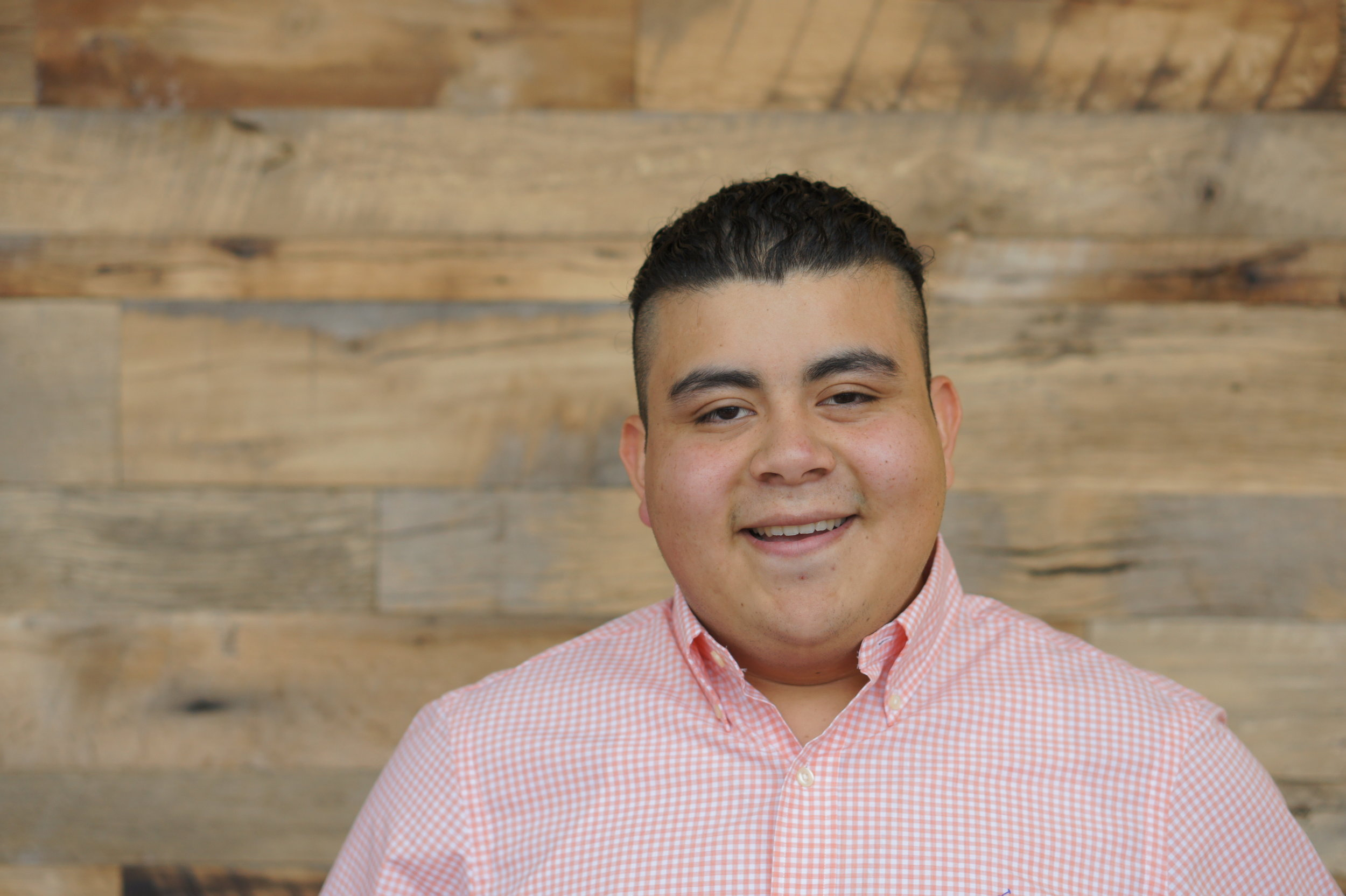 Bernardo Carrillo-Alcantara  Dental Hygienist, Freshman Forsyth Technical Community College  Mission Foods Distributors Scholarship