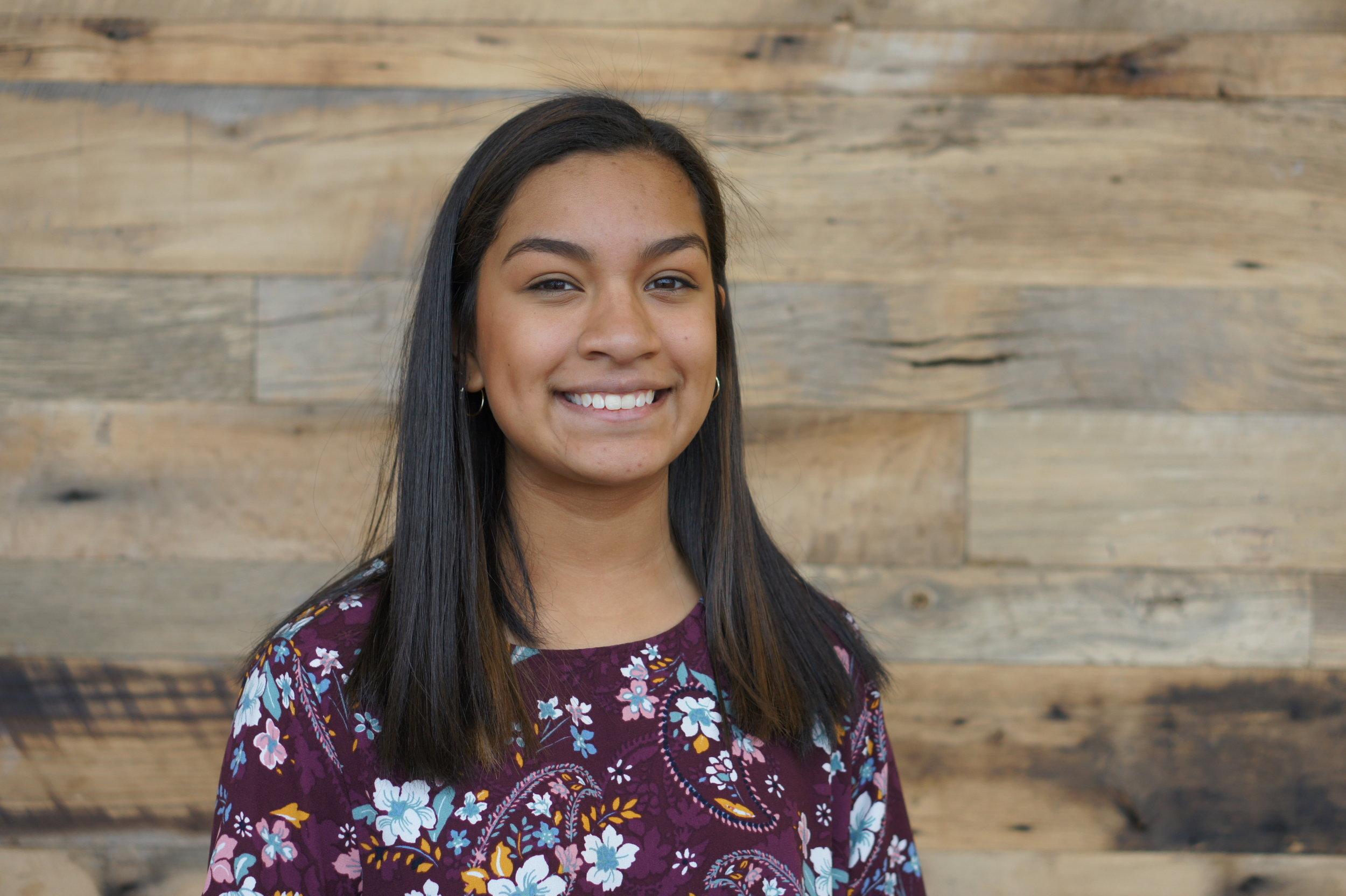 """Angela Castillo Noyola  Biology, Freshman University of North Carolina at Greensboro  D.E """"Woody"""" Clinard Scholarship"""