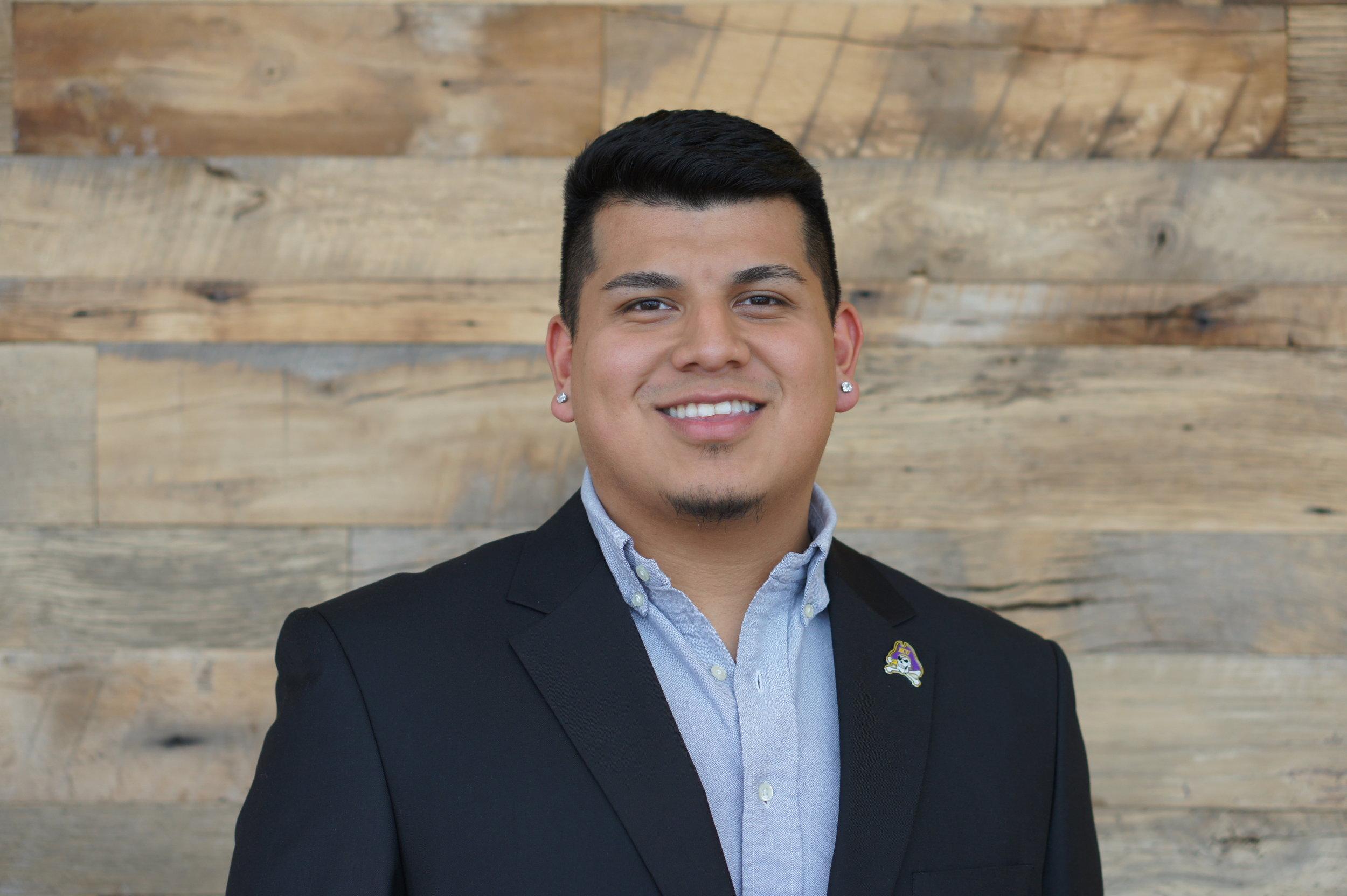 Jessie Garcia  Political Science & Government, Senior East Carolina University  Elliot Morgan Parsonage Law Scholarship