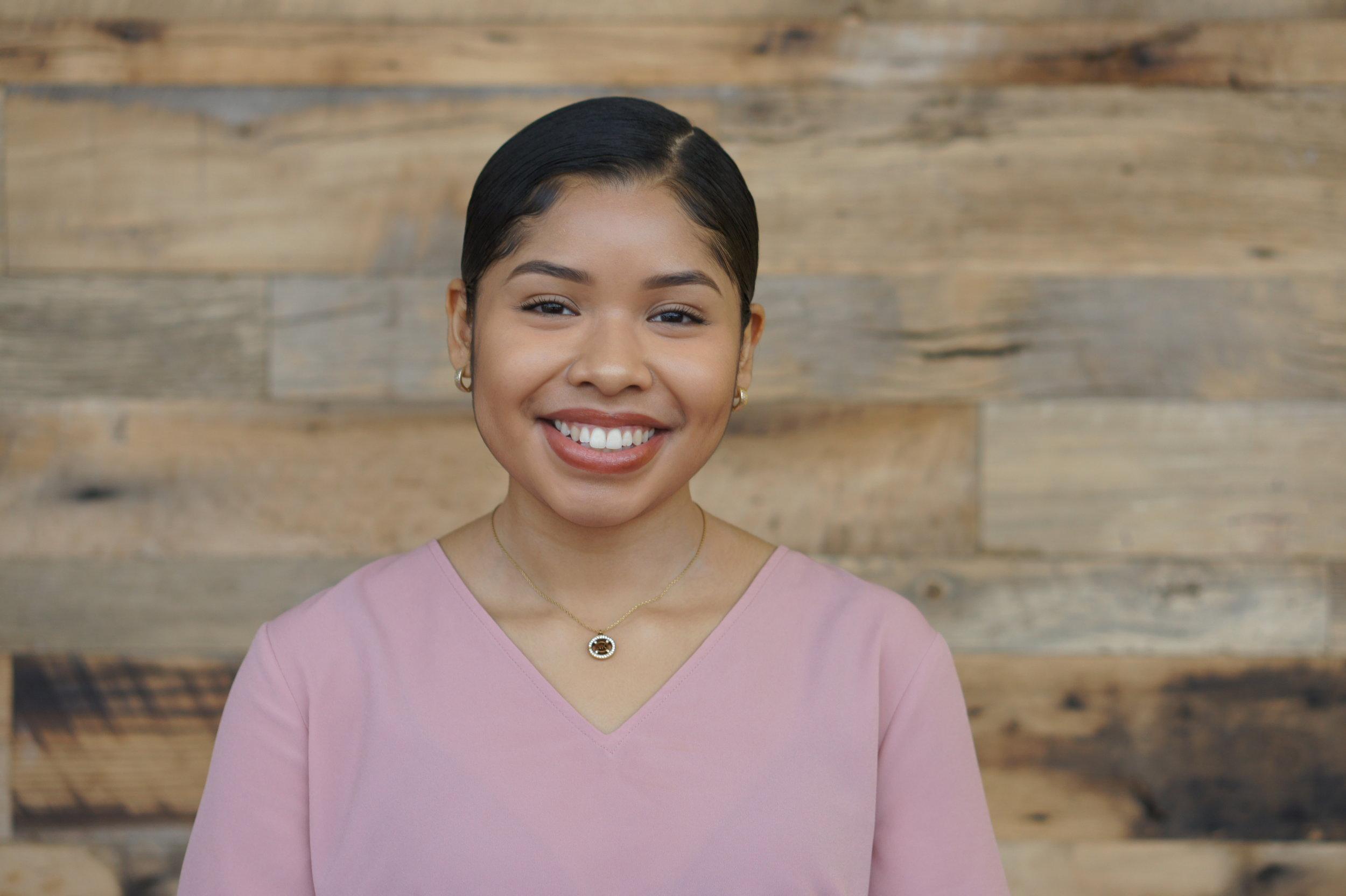 Gina Guzman Cisneros  Physical Therapy, Freshman University of North Carolina at Chapel Hill  PepsiCo Scholarship