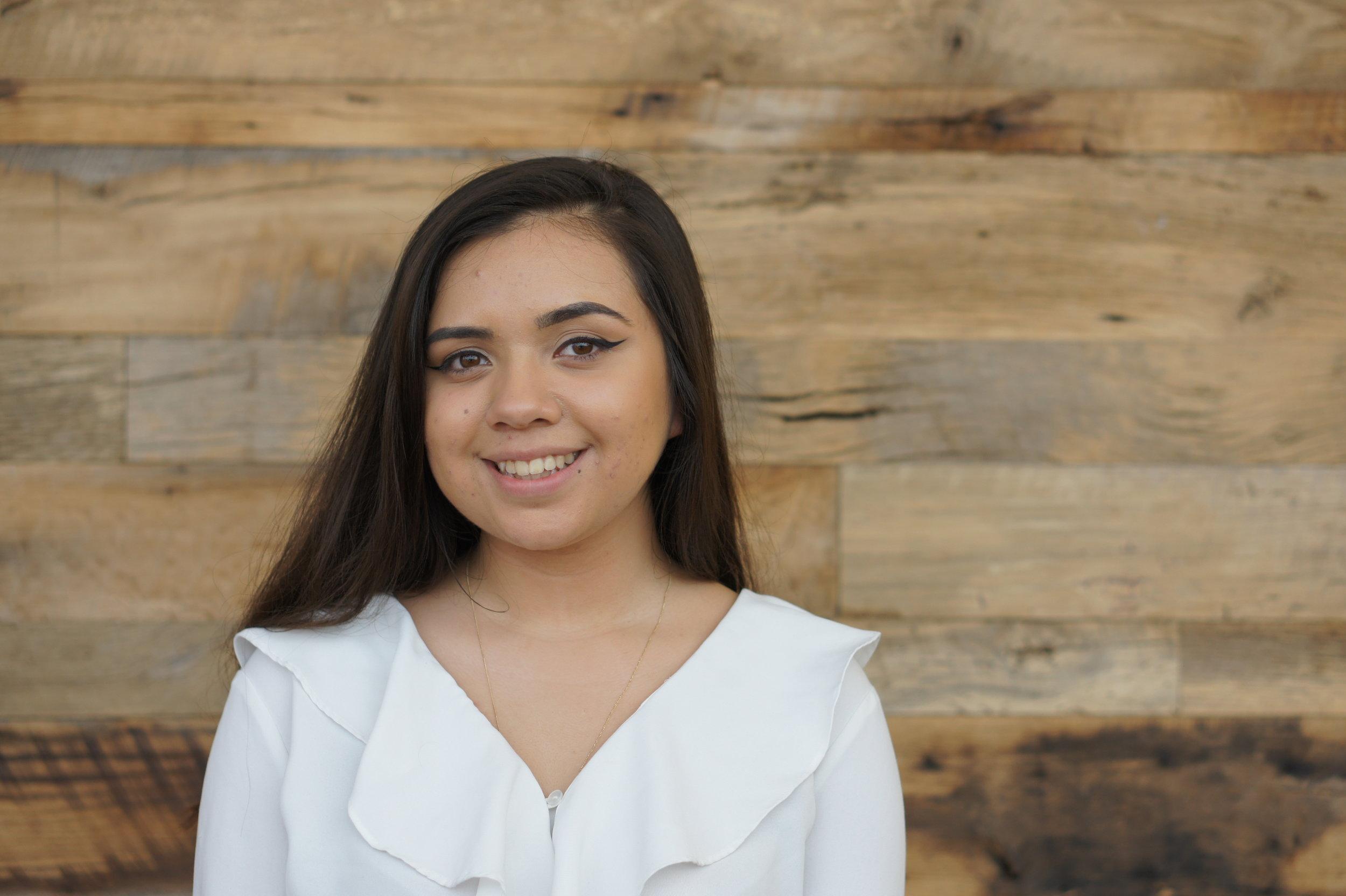 Jennifer Pantoja-Paredes  Graphic Designer, Junior Appalachian State University  Hispanic League RaffleScholarship