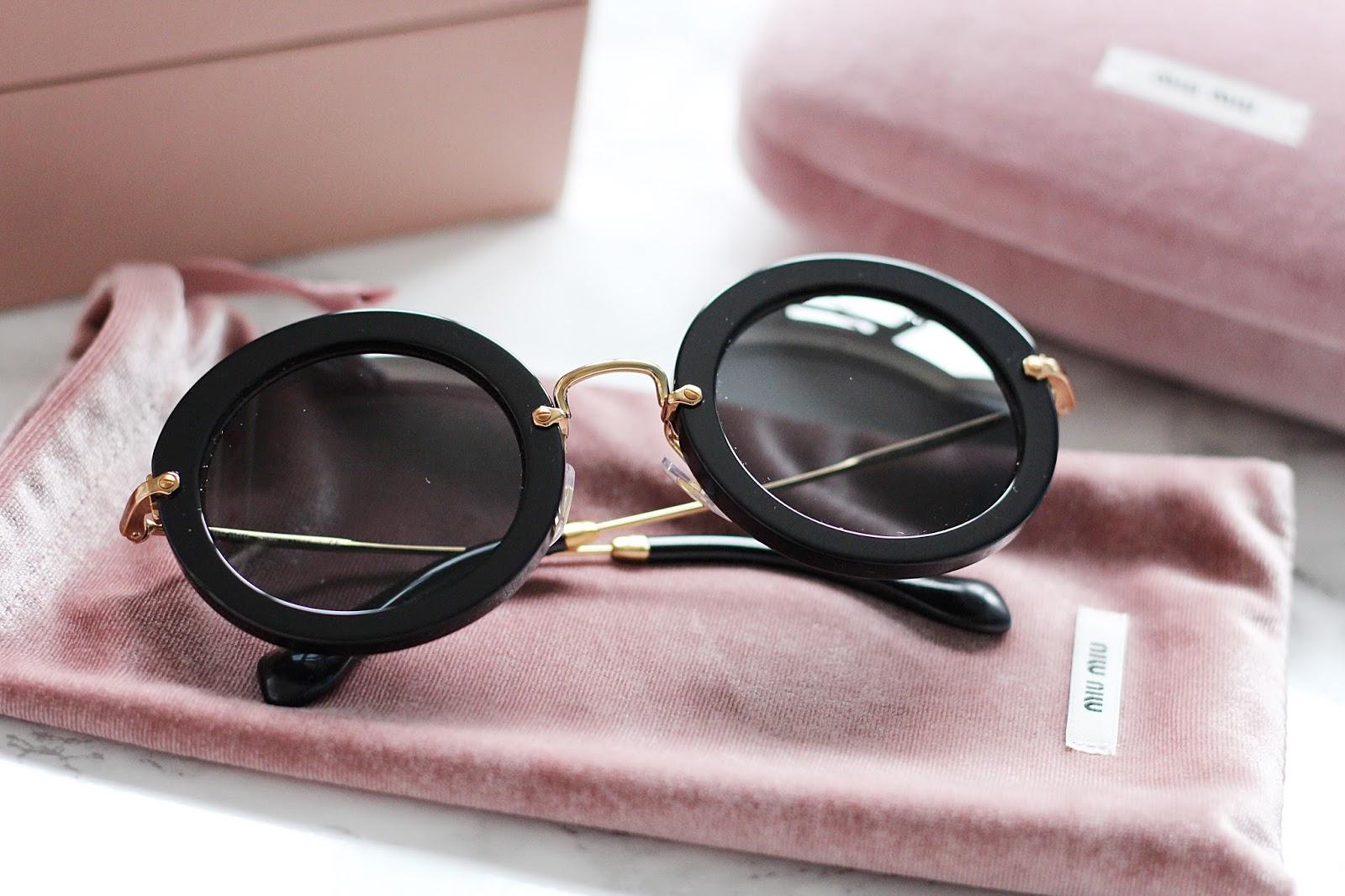 Miu MiuSunGlasses - $200