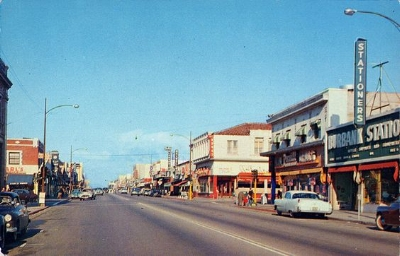 The downtown Burbank of my dad's childhood.