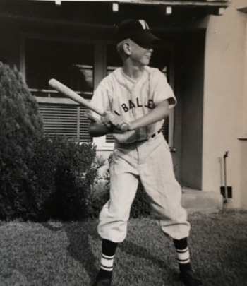 """Pops played little league mostly because one of his friend's family made sure it was an option. """"I would have never thought of it on my own."""""""