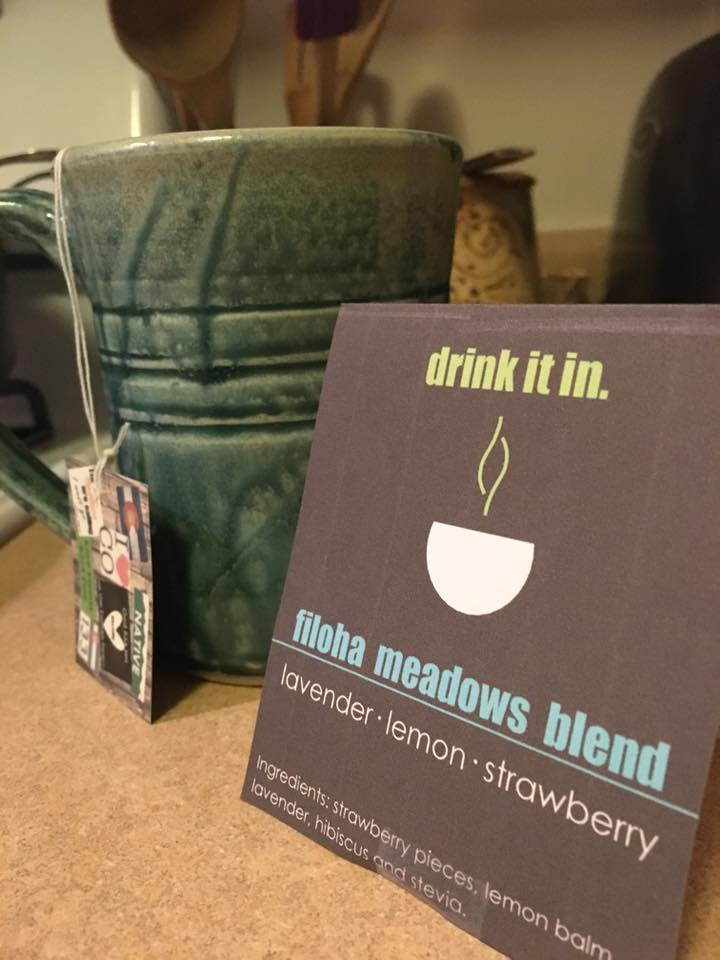 I loved the Filoha meadows blend. You can smell the strawberry as you bring your cup up for a sip...beautiful combo with the lavender. I also like that the stevia adds a sweetness so I don't need honey, but it doesn't overwhelm. - -Blair