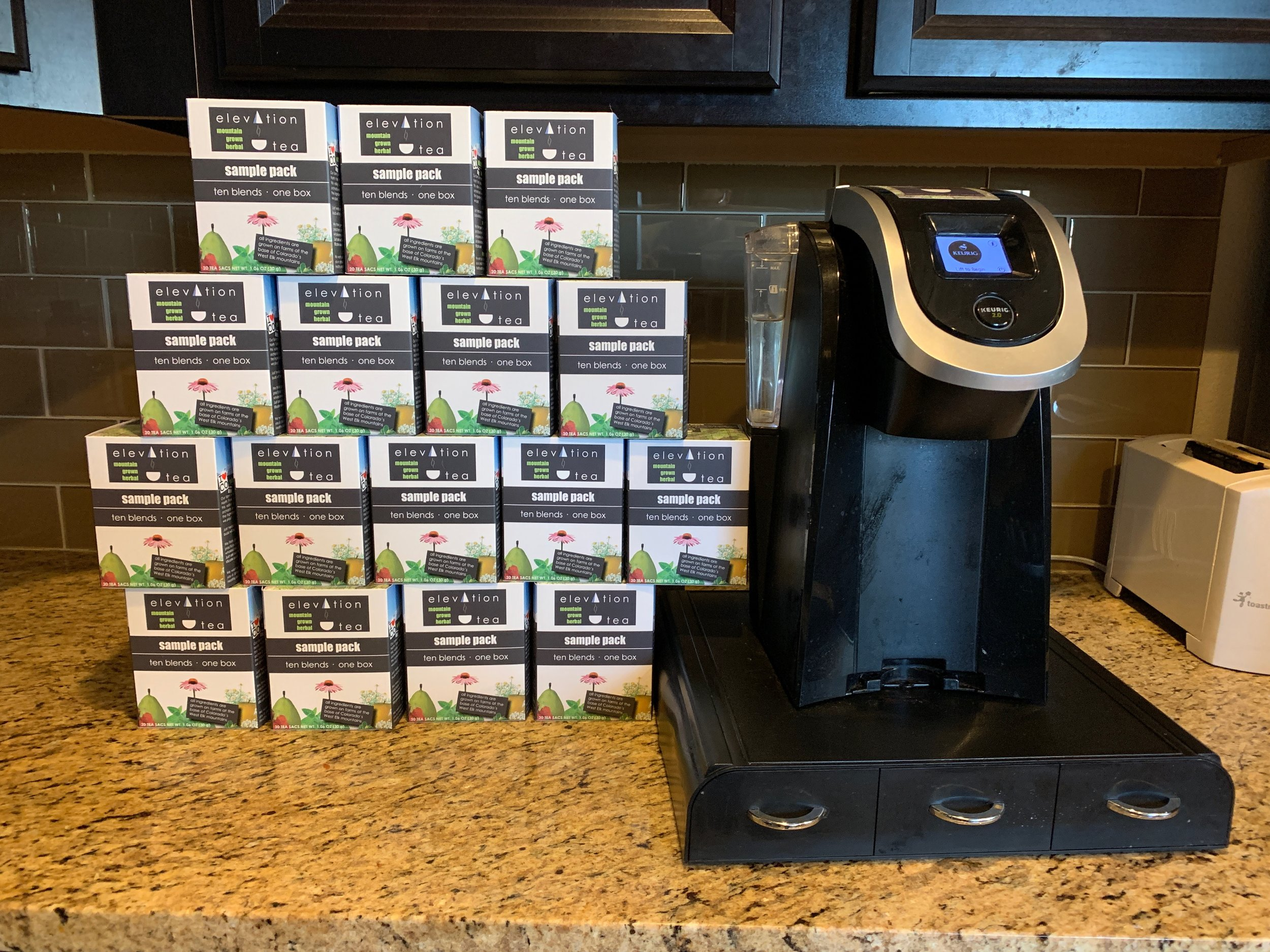 You might have a tea problem when… - -ben