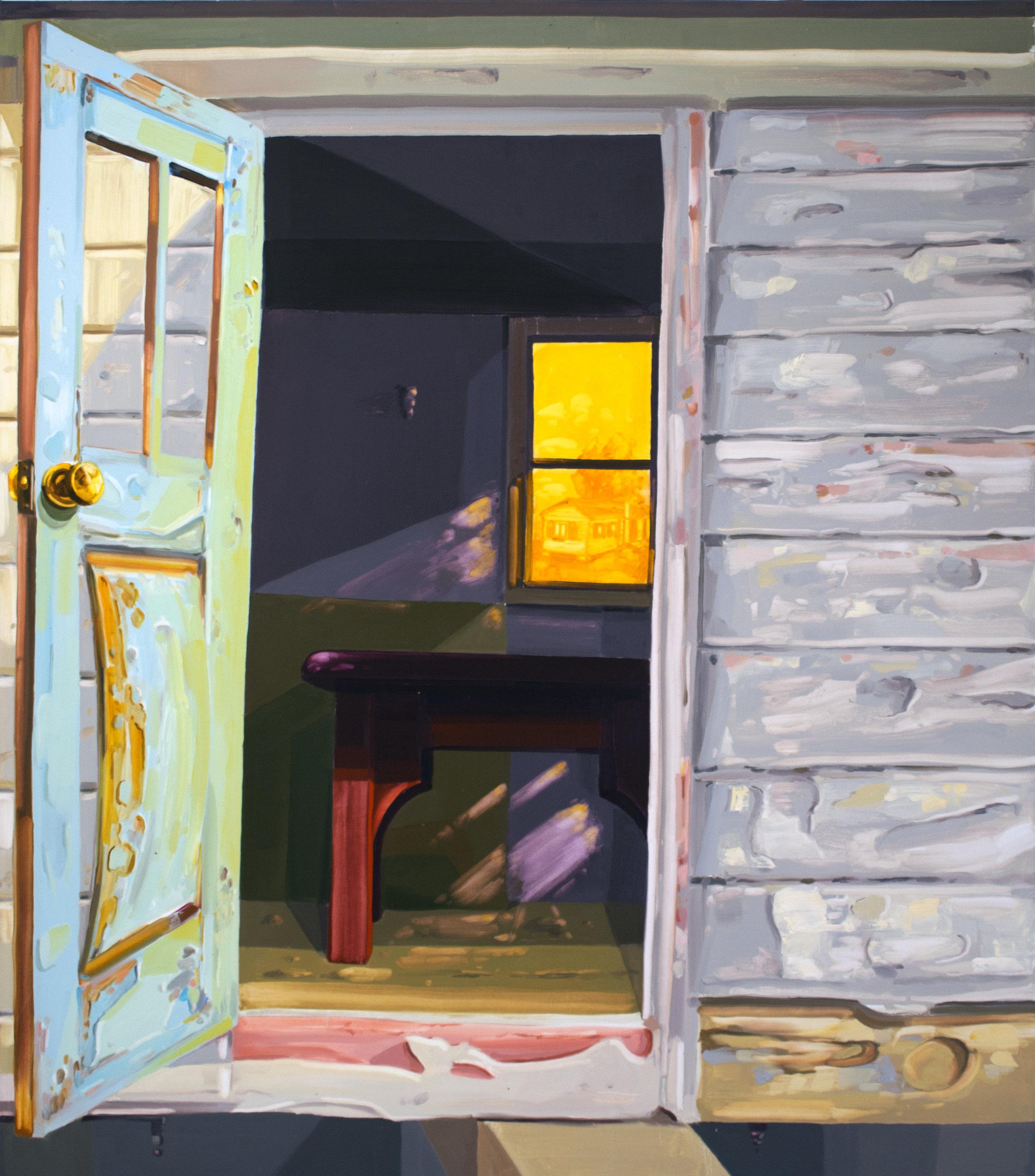 Trailer Front Door