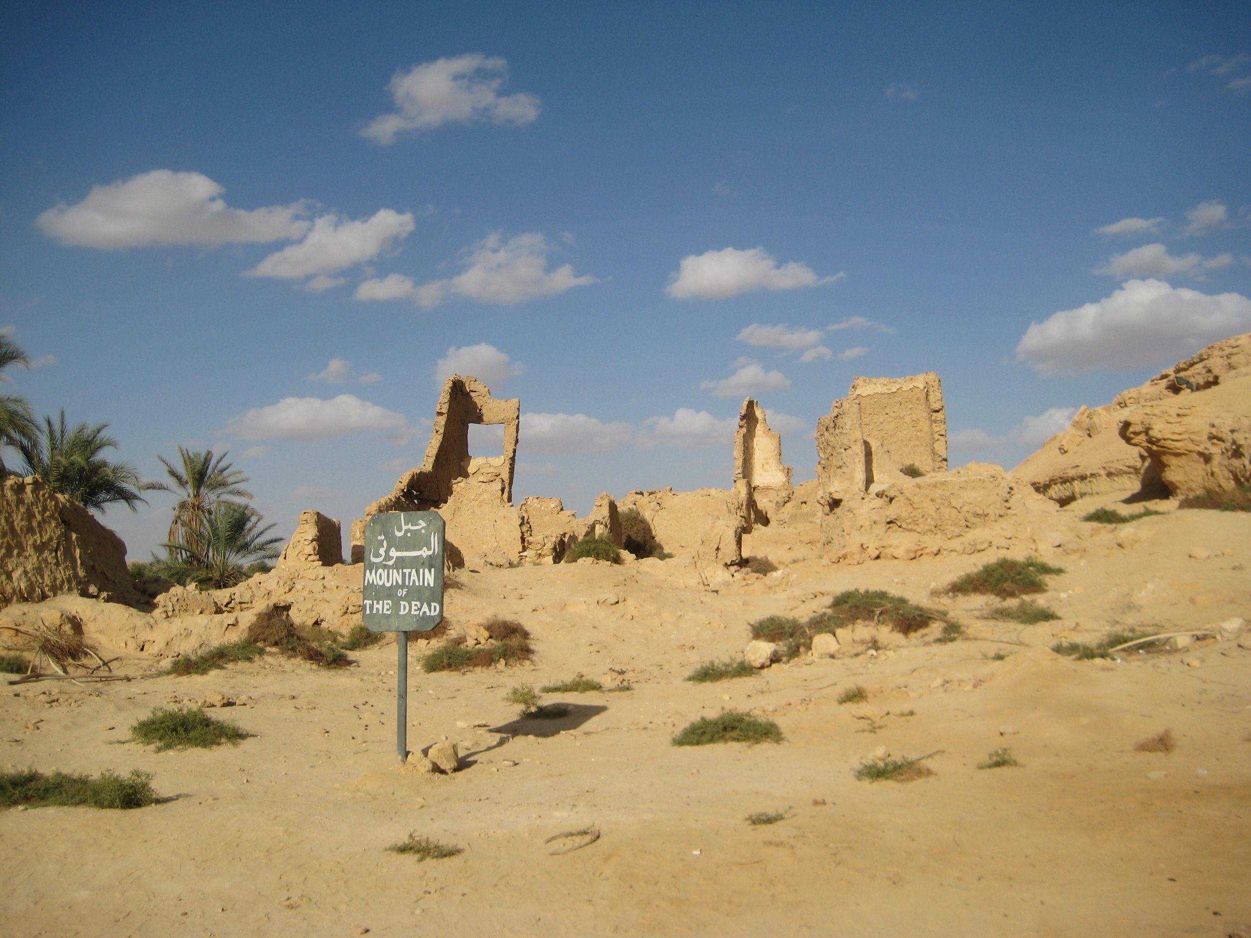 mountain of the dead, siwa