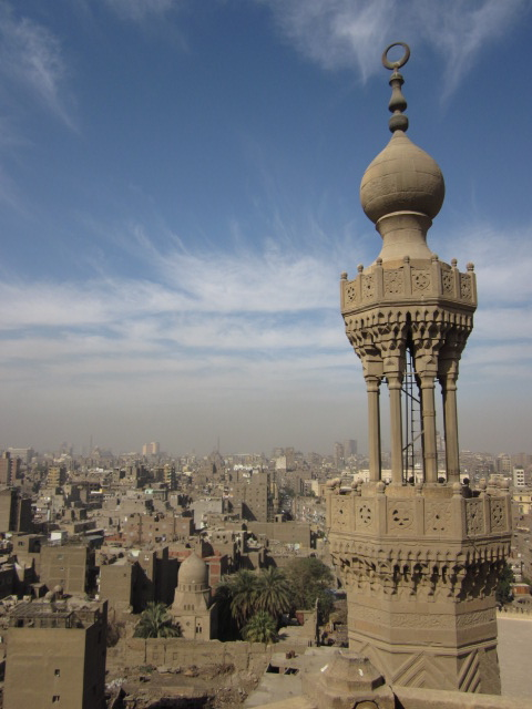 view from bab zuwayla, cairo