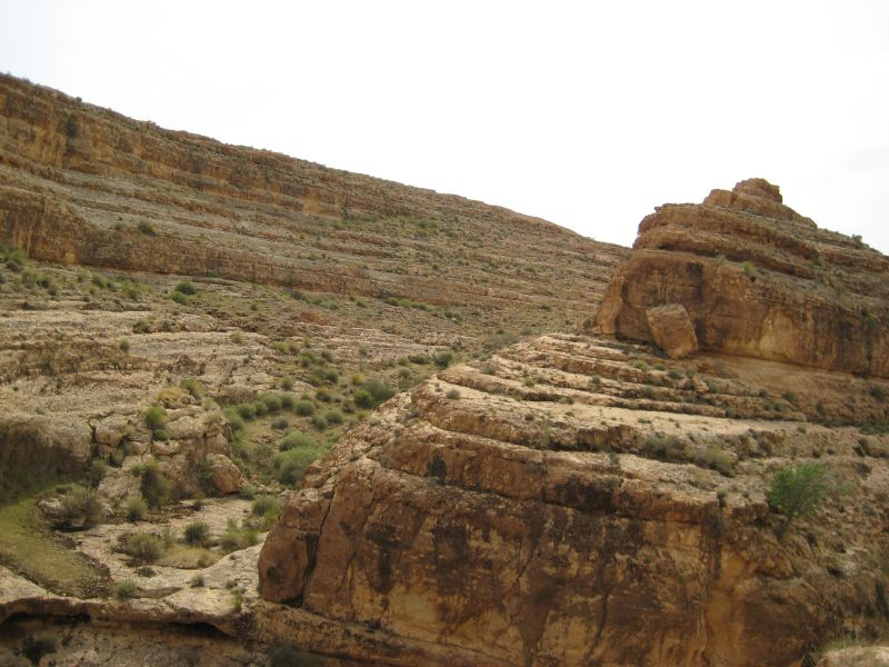 rock formations, tozeur, tunisia