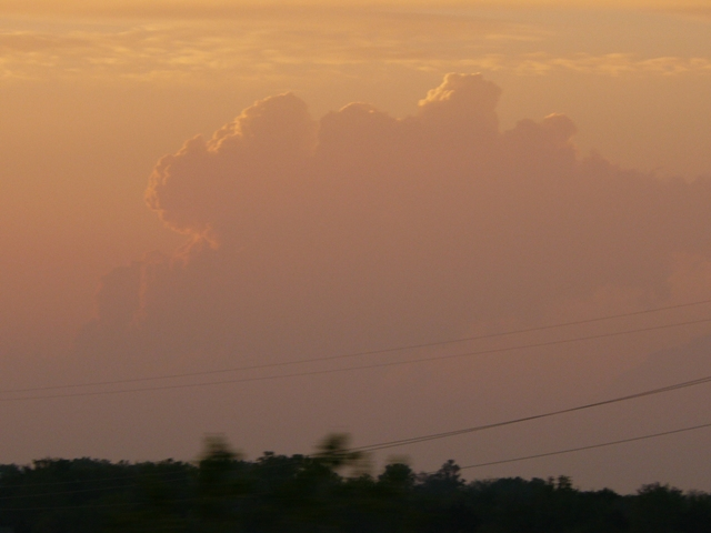 Sunset Thunderstorms