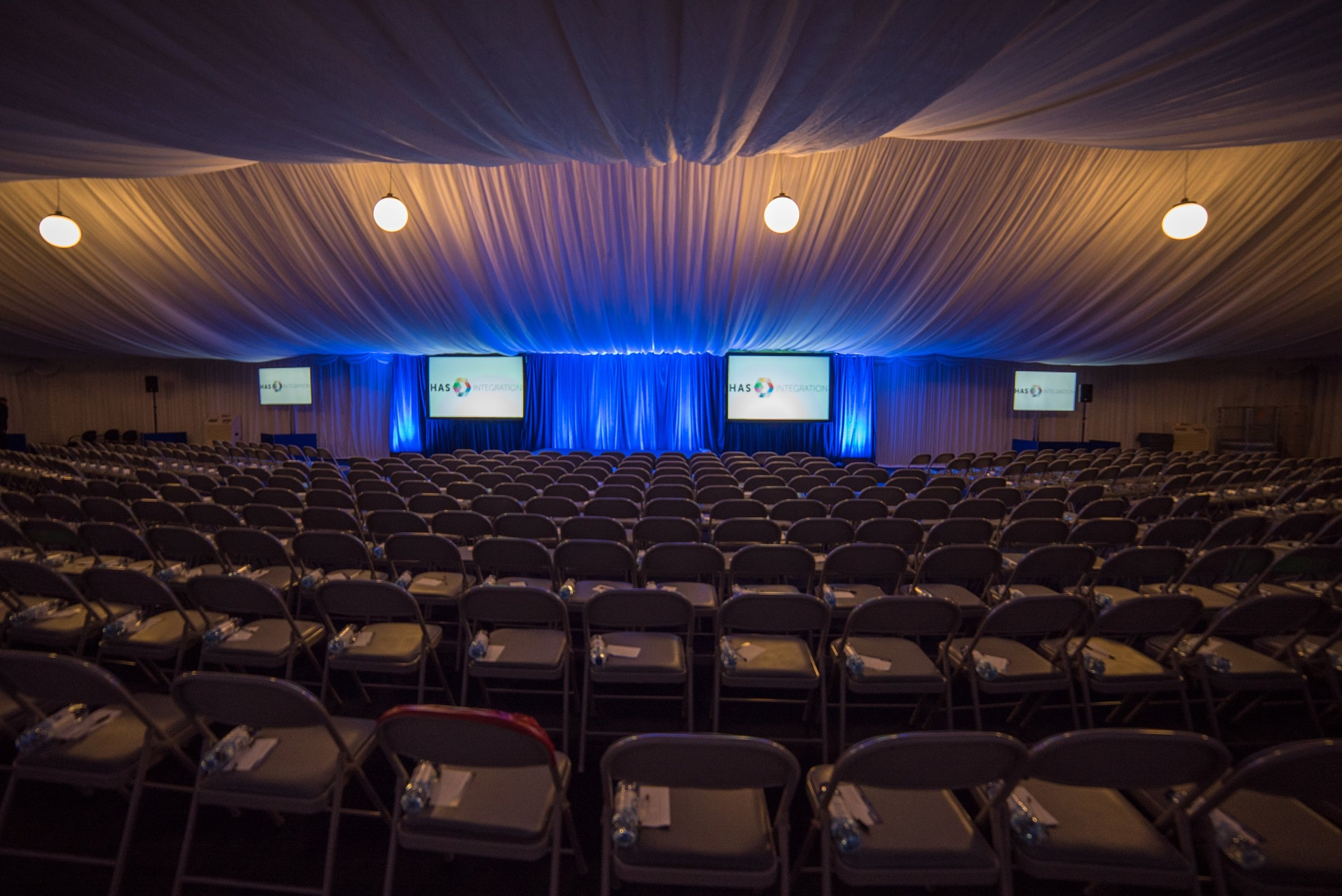 Live event rental marquee