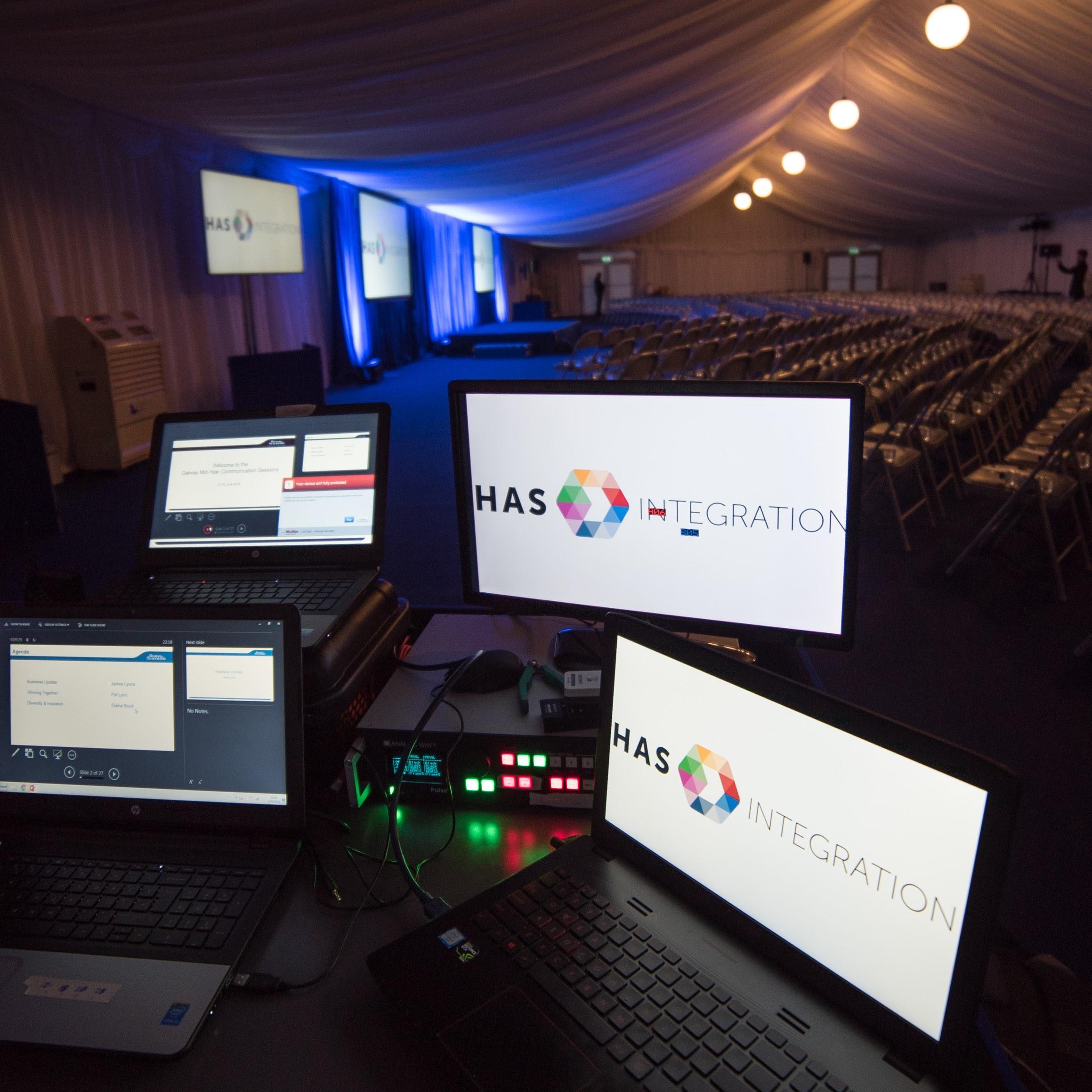Live event rental operation desk