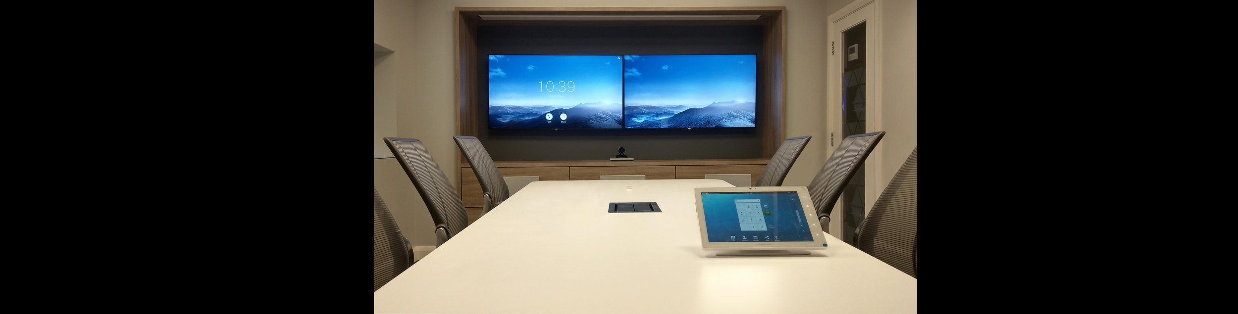 Crestron Telepresence Conference Room