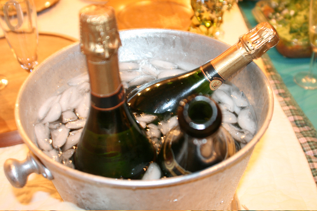 ...which led to a great need for more champagne….