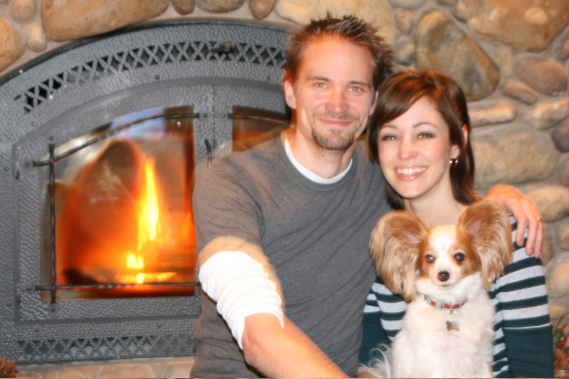 Our family in 2010.