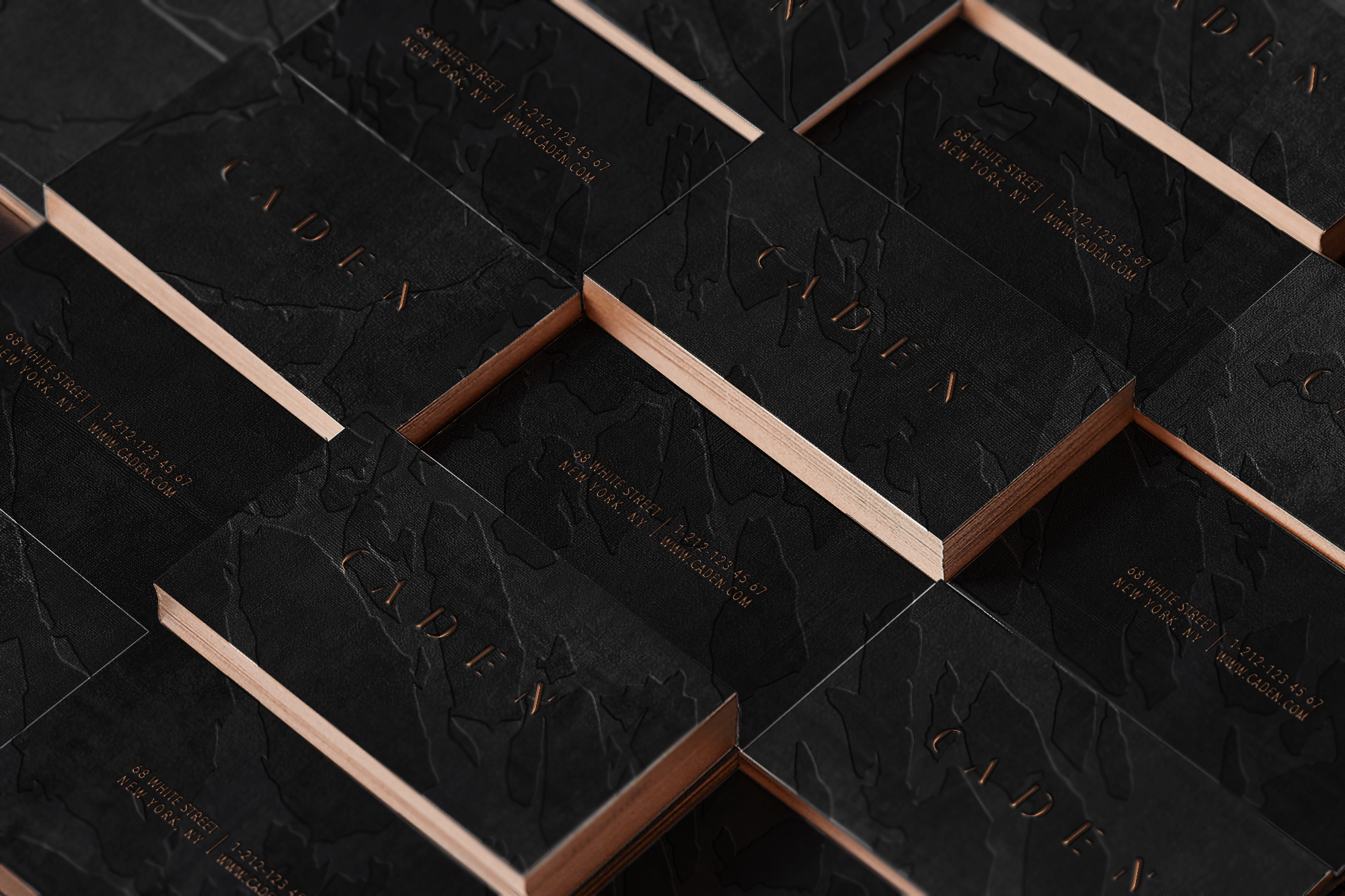 Clandestine luxury branding for a subterranean membership club located New York City.