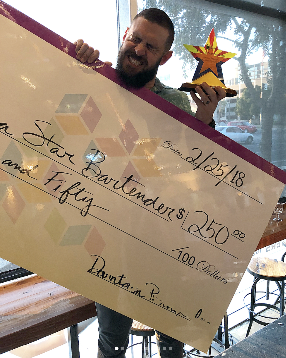 Shawn Campbell of The Vig, the 2018 Arizona Star Bartender
