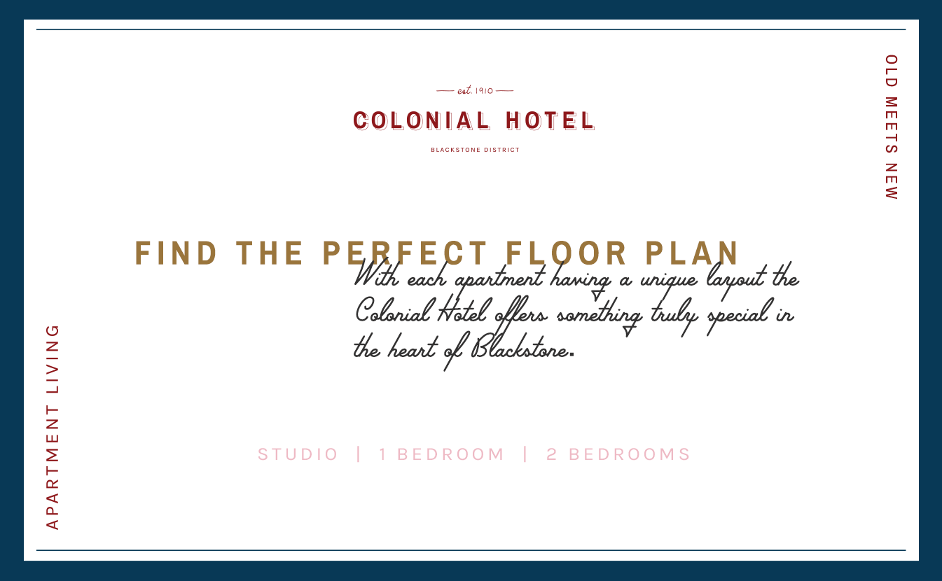 colonial hotel limited space available