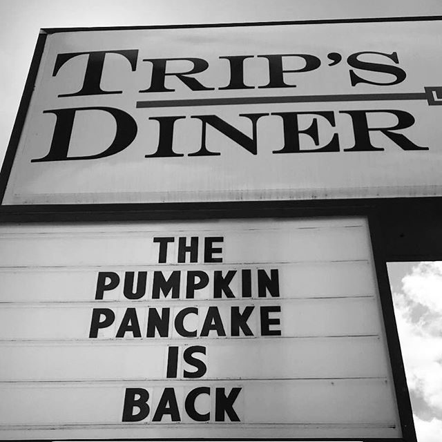 @trips_diner knows all about #pumpkinlife 💙💙💙