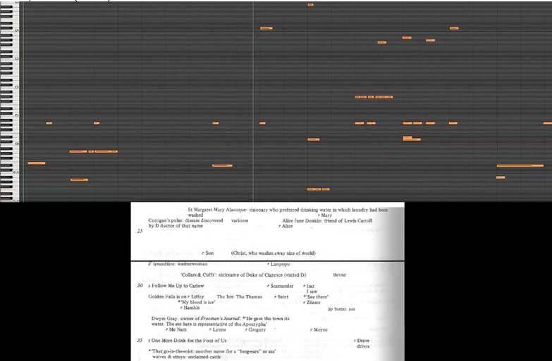 """Jail of Mountjoy,"" my interactive musical translation of  Finnegans Wake , featured on Columbia University's  Group for Experimental Methods in the Humanities ."